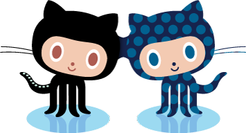 Meet Octocat, Github's cute mascot. Makes you think Github is a friendly tool, but given the steep learning curve, it's anything but.